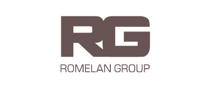 Логотип Romelan Group